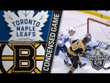 Toronto Maple Leafs vs Boston Bruins R1, Gm1 apr 12, 2018 HIGHLIGHTS HD
