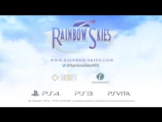 Rainbow Skies - Announce Trailer ¦ PS4