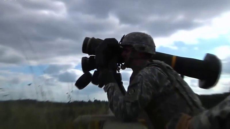 Точно в цель : В Украине провели первые пуски ПТРК Javelin