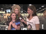 Sophie Turner and Maisie Williams Give