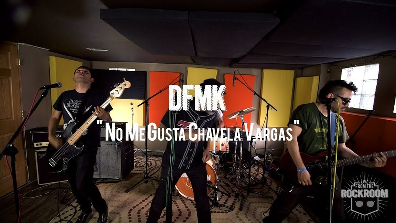 DFMK - No Me Gusta Chavela Vargas Live! from The Rock Room