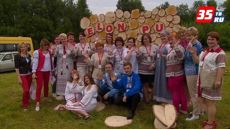 Фестиваль вепсской культуры «Древо жизни» собрал полторы тысячи гостей в Бабаевском районе