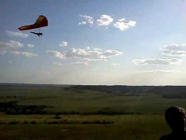 Hang gliding Полёт Пульсара в Саратове