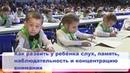 Как развить у ребёнка слух, память, наблюдательность, концентрацию внимания