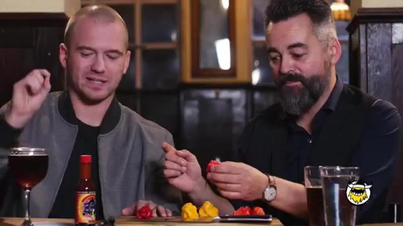 самый острый в мире перец, каролинский жнец (русская озвучка)