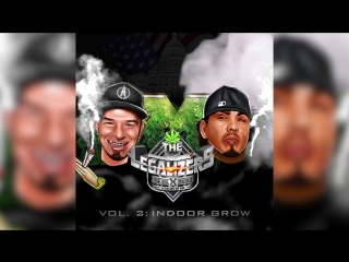 Baby Bash & Paul Wall - The Legalizers Vol. 2: Indoor Grow - Drops on 4/20 - PreOrder Now