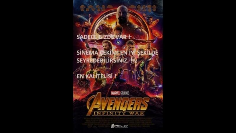 Avengers İnfinity War Sinema Çekimi izle