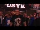 Выход Александра Усика на бой в Москве против Мурата Гассиева 21.07.2018