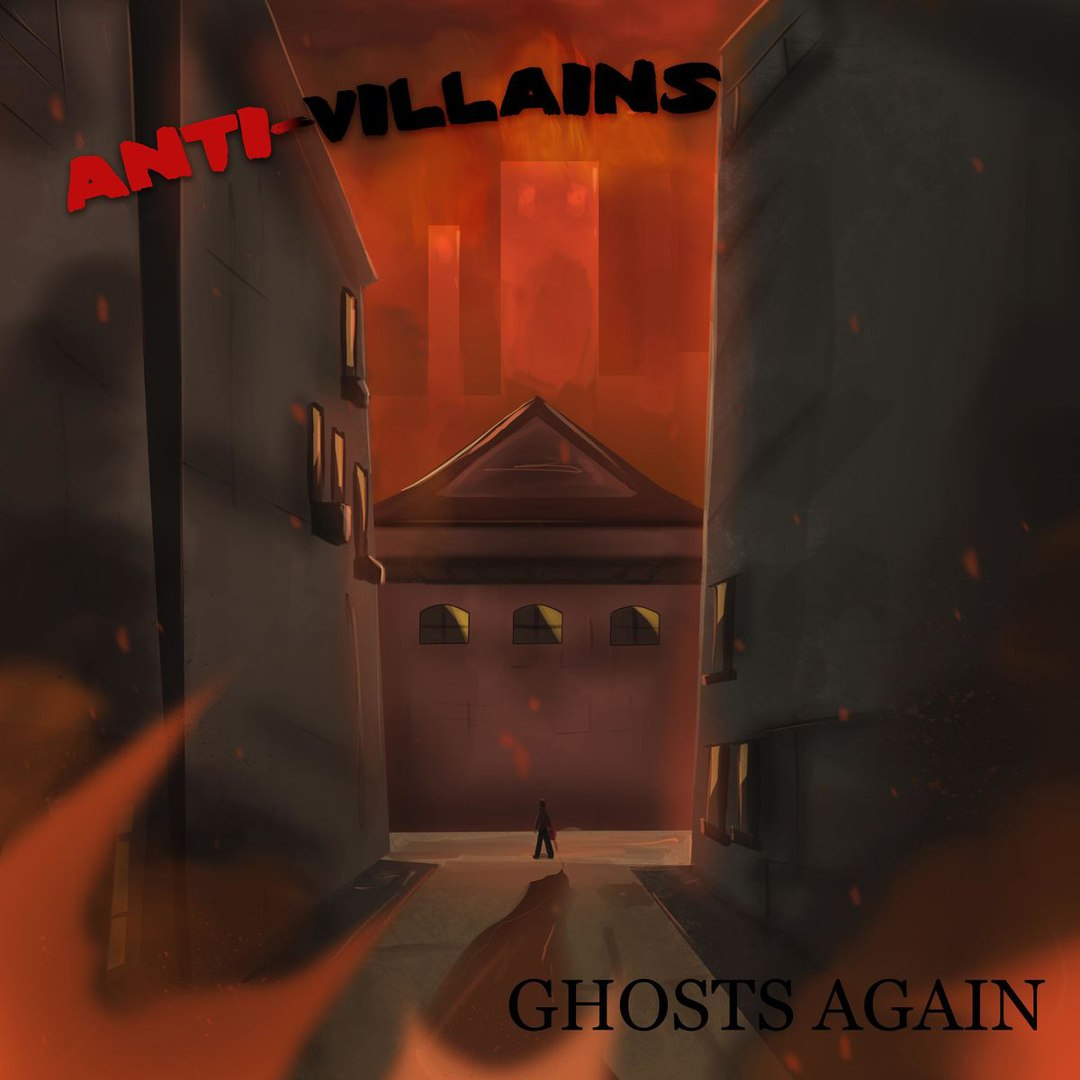 Ghosts Again - Anti-Villains [EP] (2017)