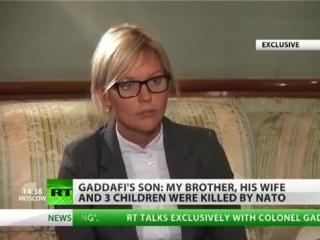 Gaddafi son - Libya like - fast war as fast food.mp4