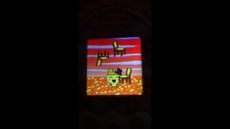 Tamagotchi M x Sanrio ver жонглирование