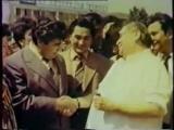 Бобомурод Хамдамов и Радж Капур - Встреча двух великих.mp4