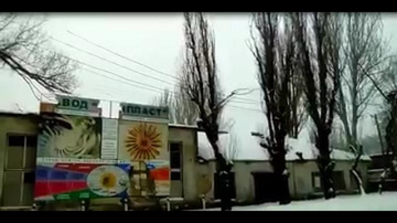 Канонада в Донецке. Киевский район. Сегодня. Артиллерийская дуэль на окраине города ...