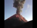 Извержение вулкана в Гватемале (VHS Video)