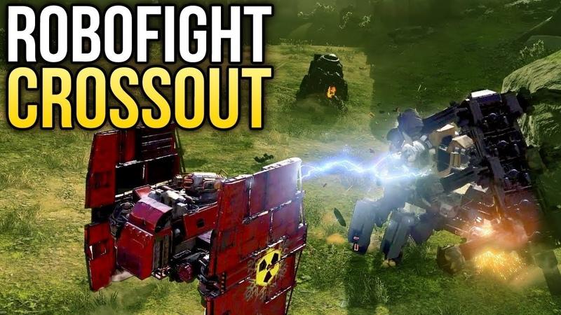 Crossout Robofight: ВЕЙДЕРОГОЛОВ vs ТАЙ-БОЕЦ