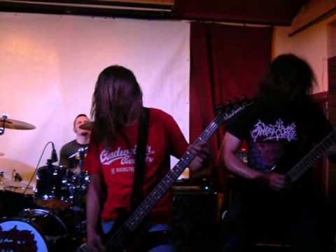 Brutally Deceased, Sick Mosh Feast Tour, České Budějovice, Velbloud, 28 3 2014,