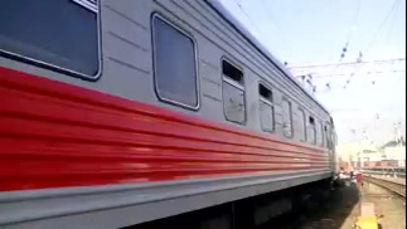 а это мой родной и любимый поезд №58_57 Москва Йошкар ола он же Москва Ульяновск
