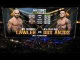 UFC FIGHT NIGHT WINNIPEG Robbie Lawler vs Rafael Dos Anjos