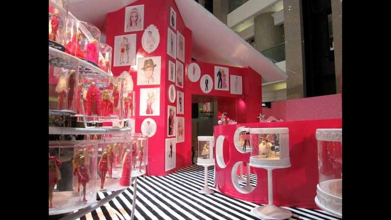 Самый большой в мире магазин Барби. Шанхай, Китай