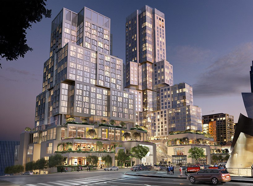 Frank Gehry updates plans for 'the grand' as LA development prepares to break ground