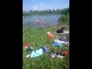 народ купается