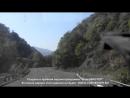Армения! 3 веселых тоннеля! проехать можно только одной машине и только по центру