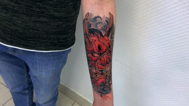 Тату-мастер Александр Каспер (colored japanese tattoo hanya ) | Тату студия Дом Элит Тату (Tattoo Studio Moscow)