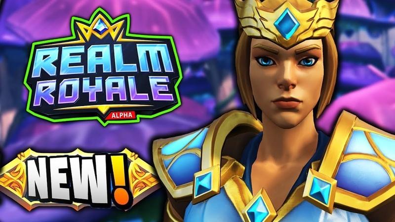 Realm Royale! mynameisplat - Master Rank (496 Kills), grinding duos, 6 wins today