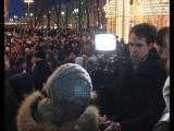 В Москве прошла акция памяти погибших при пожаре в Кемерове