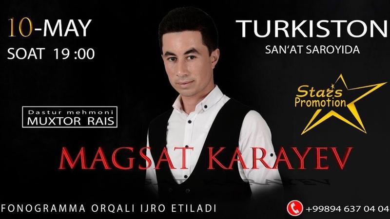 Maqsad Qarayev - Biz uchrashdik nomli konsert dasturi 2018