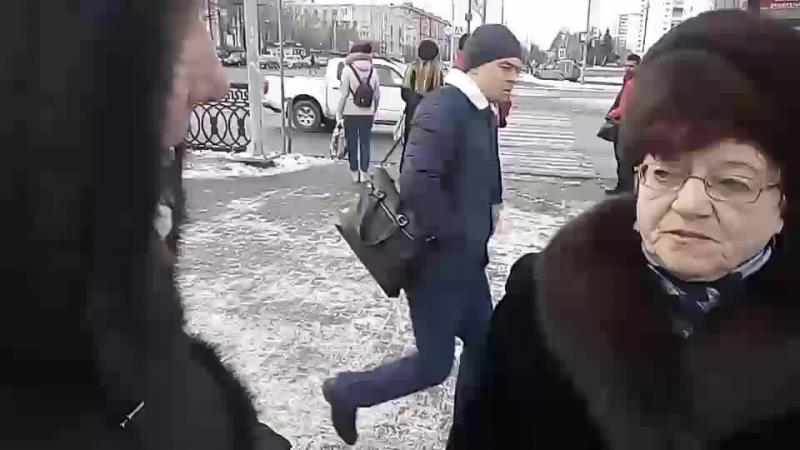 15.01.2018. Челябинск НОД 74. Пост №1. Одиночный пикет. Алое поле.