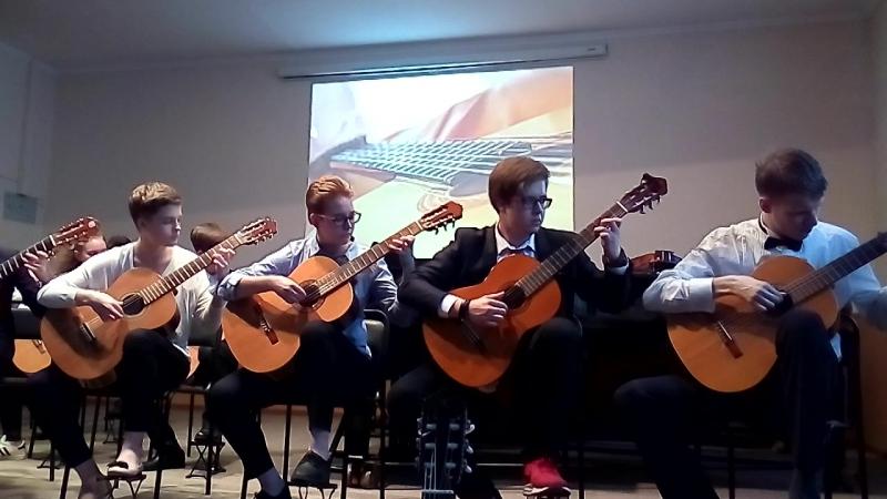 А. Вивальди. Концерт для двух лютней, II часть. В. Ерзунов. Хабанера.