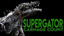 Supergator (2007) Carnage Count