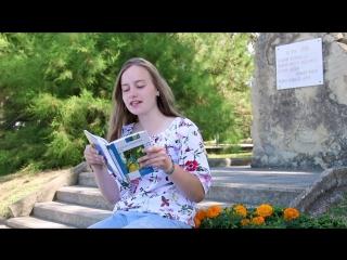 #читаемтургенева Ангелина Бушля из г. Орла читает «Асю» в ВДЦ «Орлёнок»