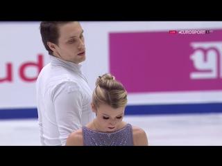 Cup of China 2017. Pairs - FP. Kirsten MOORE-TOWERS / Michael MARINARO