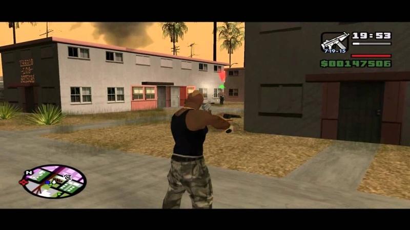 GTA San Andreas Прохождение с комментариями Часть 44