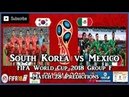South Korea vs Mexico | FIFA World Cup 2018 Group F | Match 28 Predictions FIFA 18