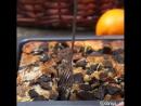 Шоколадно-сливочный пирог с шоколадным печеньем я взяла орео