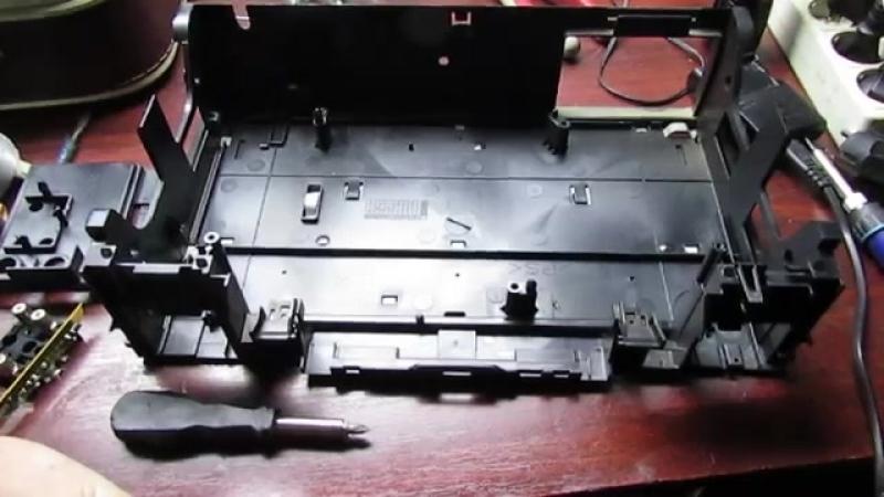 полная розборка Видеомагнитофон SAMSUNG SVR-141-idei-для самоделок-juclip-scscscrp