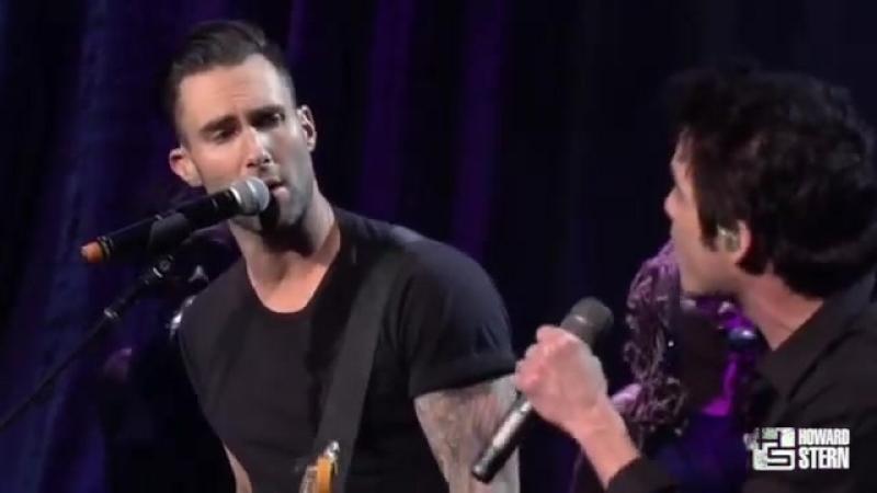 Adam Levine Performs Purple Rain At The Howard Stern Birthday Bash on SiriusXM