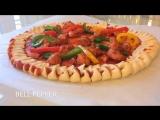 Вот ещё один не менее интересный вариант пиццы