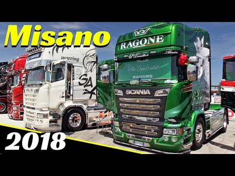 Misano 2018 Camion Decorati / Custom Truck Show - Weekend del Camionista - Highlights Part 1