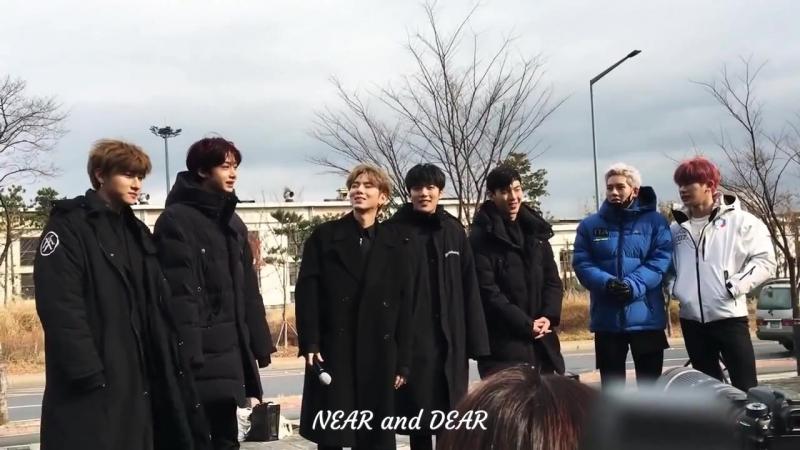[VK][171125] MONSTA X @ Music Core mini fanmeeting