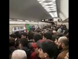 На Новогоднюю ночь в Бакинском метро 2018    АЗЕРБАЙДЖАН , AZERBAIJAN , AZERBAYCAN , БАКУ, BAKU , BAKI , КАРАБАХ 2018