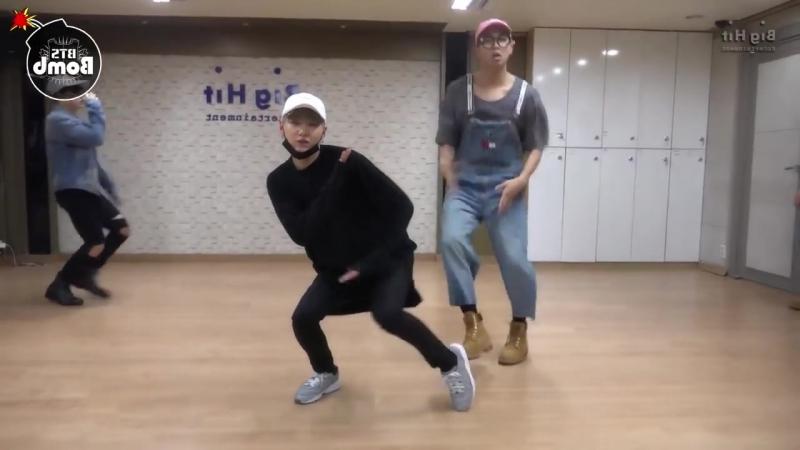 방탄소년단 BTS 뱁새 SILVER SPOON MIRRORED 안무연습 거울모드 1 mp4