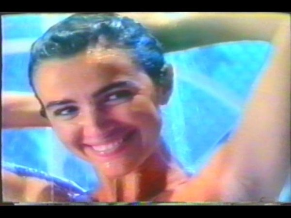 Luma de Oliveira - Comerciais Antigos (1988)