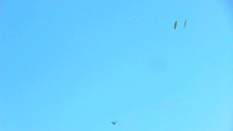 Воздушный бой радиоуправляемых авиамоделей