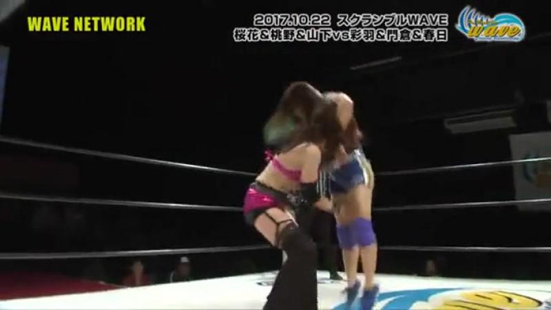 Mio Momono Rina Yamashita Yumi Ohka vs Moeka Haruhi NEW TRA Rin Kadokura Takumi Iroha WAVE Sunday WAVE Vol 33