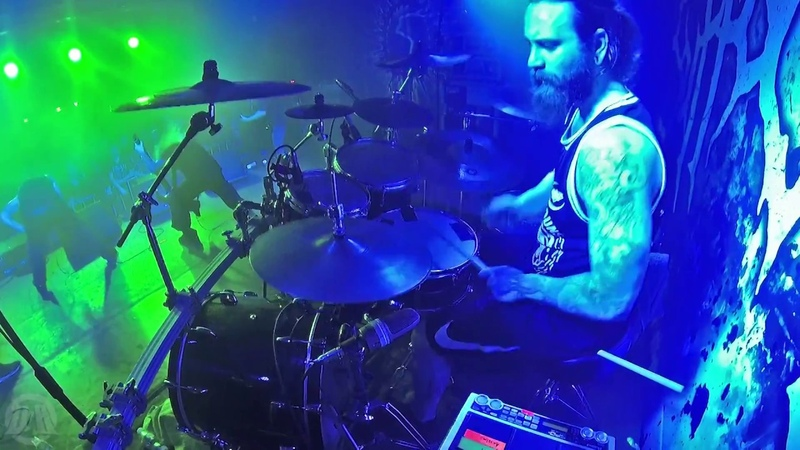 SUFFOCATION@Catatonia-Eric Morotti-Live in Poland (Drum Cam 2018)