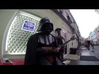 «Имперский марш» на балалайке